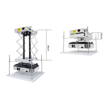 моторизованный проектор лифт | 70 см кронштейн для проектирования изображения моторизованный Электрический подъемник ножницы потолочный кронштейн для проектора подъемн...