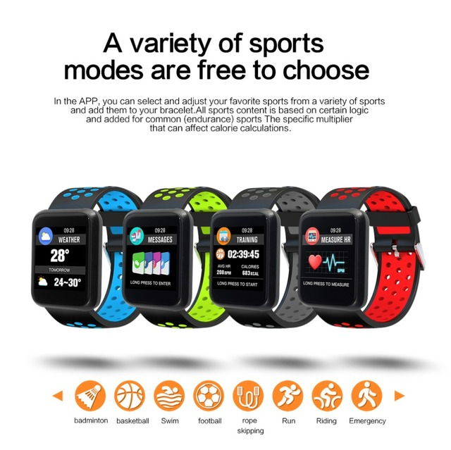 LEMFO Sport 3 Smart Watch Blood Pressure Men Heart Rate IP67 Waterproof Bluetooth Wrist Smartwatch for Xiao mi Android IOS Phone