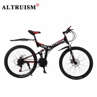 Altruism X6 Mountain Bicycles Bmx 26 Inch 21 Speed Bicicleta Full Suspension Bikes Mens Bisiklet Folding