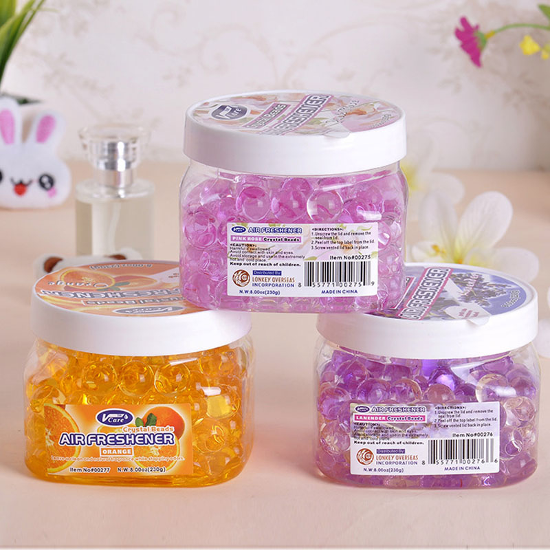 New home office hotel toilet crystal gel beads nature ...
