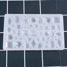 Горячая DIY силиконовая форма для изготовления Подвески Изготовление ювелирных изделий для ожерелье из смолы плесень Ремесло Инструмент MDD88