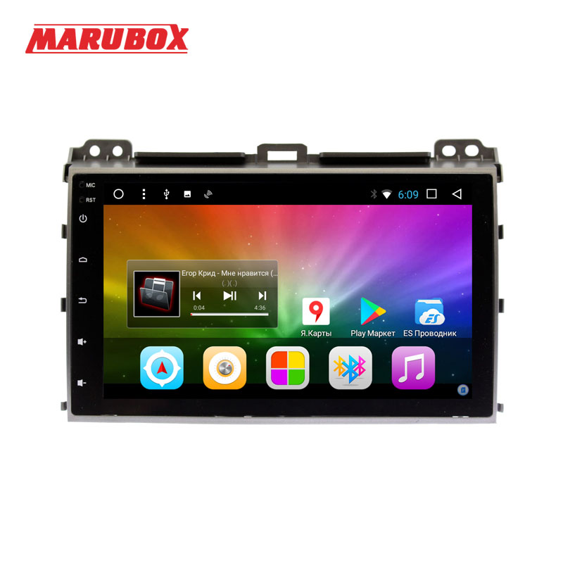MARUBOX 2 Din Car Multimedia Player Per Toyota Prado 120 Land Cruiser Android 7.1.2 Otto Ocre 9