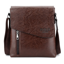 Leather Messenger Bag For Man Brand Business Man Bag Men's Shoulder Bags Front Pocket Men Handbag