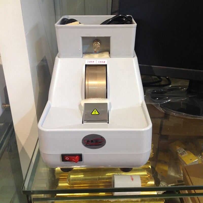 1pc new 35wv optical hand so, pop lens manual grinder (single wheel motor direct-current)35WV 220V 80W
