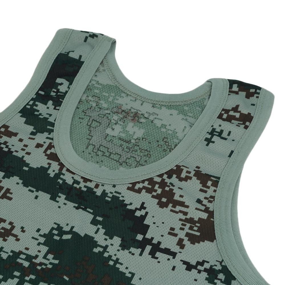 Running Vests 2016 Running Vests Military Style Men Vest Camouflage Tank Top Tight Sport Skinny Best Seller