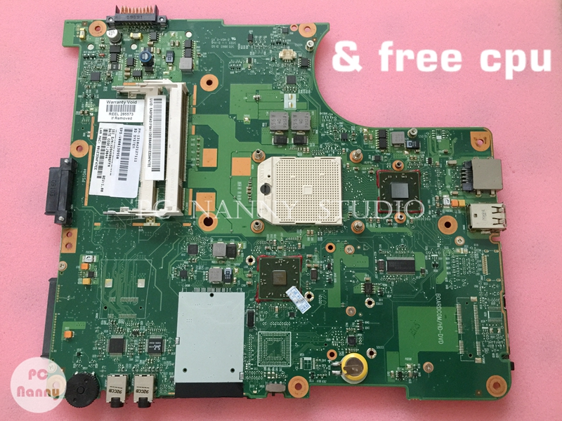 NOKOTION for Toshiba L300D L300D 242 Working laptop Motherboard Mainboard free cpu V000138950 6050A2175001