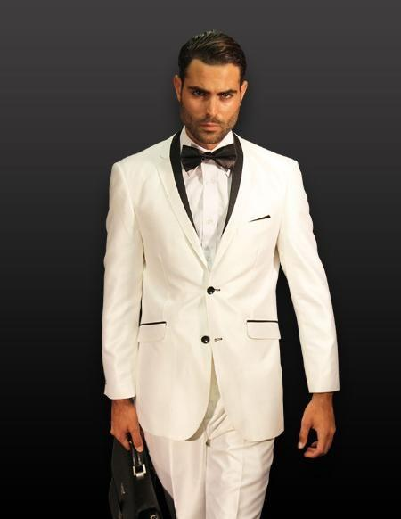 Popular Men White Floral Fitted Suit-Buy Cheap Men White Floral ...