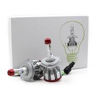 2PCS Mini Size H7 H11 Led Canbus Bulb 64W 80000LM Car headlight H4 Hi/Lo Beam H1 LED H3 H9/H8 6000K Led 12V H11 Fog Lights