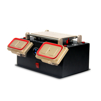 3 in 1 Built in Vacuum Pump Touch Screen Separator LCD Middle Bezel Frame Separate Split Machine For iPhone Samsung