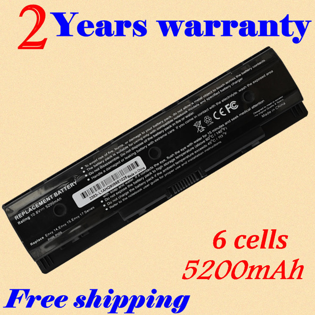 JIGU HSTNN-UB4N 710416-001 New Laptop Batteries For HP Pavilion14 Pavilion 15 Batteries PI06 PI09 Free shipping