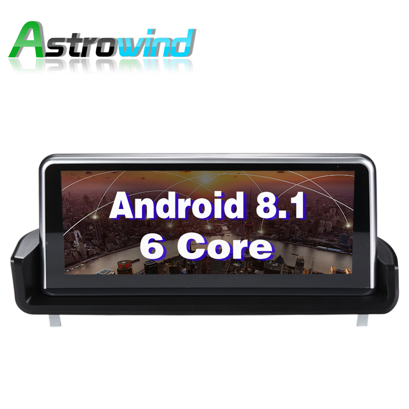 10.25 pouce 2g RAM 32g ROM Android 8.1 Système Voiture Multimédia de Navigation GPS Stéréo Radio Pour BMW 3 série E90 E91 E92 E93 (2005-2012)