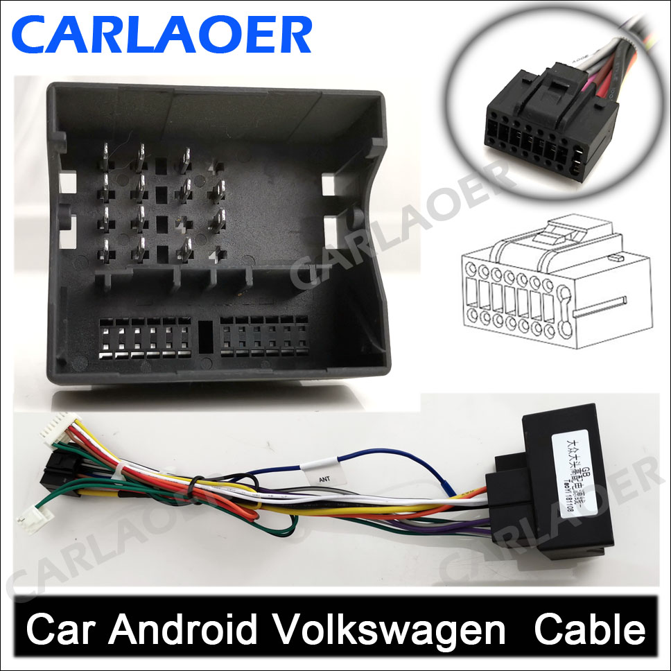 Car Android Volkswagen Skoda Cable