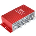 3pcs/lot Brand New Red 2CH Stereo Mini Car Home Audio Digital Amplifier 2 Channel BTL AMP Hifi RMS 10W Free Shipping 10000286