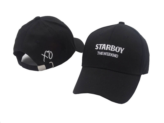 d0f47d5fb15 100% Cotton The Weeknd Starboy Hats and Stargirl Hats XO Dad Hat Baseball Caps  Snapback