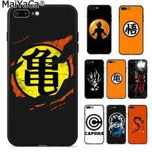 MaiYaCa Dragon Ball z super Goku logo New Arrival Fashion phone case cover for iphone 11 pro 8 7 66S Plus X 5S SE XS XR MAX