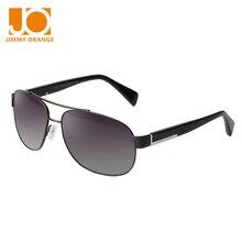 Jimmy Orange Men Polarizd driving sunglasses women oversized pilot metal frame UV protection rectangle eyeglasses J7225