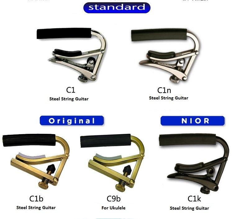 все цены на  Shubb Capo Standard Steel String Capo Original Capo Ukulele C1 C1n C1b C1k C9b Capotraste  онлайн