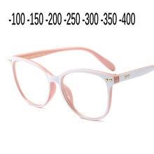 Diseñador superior Venta caliente gafas Retro de moda las mujeres blancas gafas graduadas para miopía gafas vintage cristal transparente gafas NX