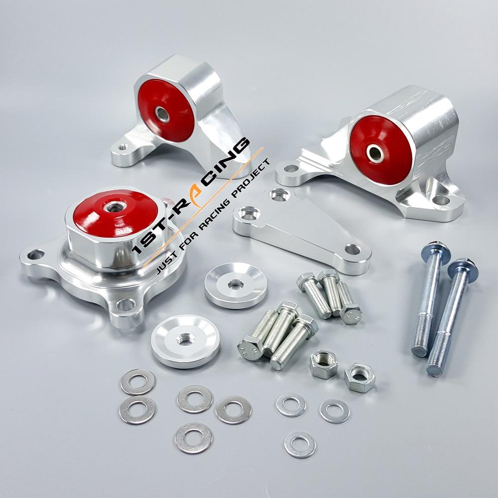 Billet Engine Swap Motor Mount Kit FOR 02 05 Honda Civic