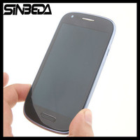 Sinbeda White Or Blue LCD Screen For Samsung Galaxy S3 Mini I8190 I8190N I8195 LCD Touch