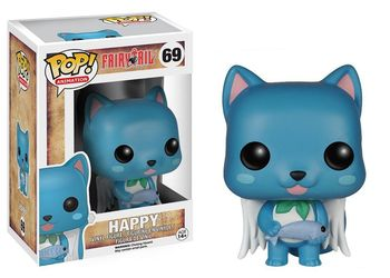 Figura Funko Pop de Happy de Fairy Tail Fairy Tail Figuras
