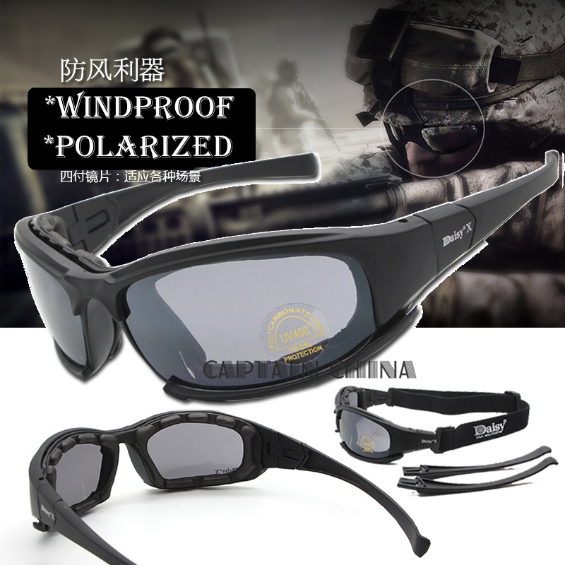 Prix pour Polarisées X7 Armée Lunettes lunettes de Soleil Hommes Militaire Jeu de Guerre Tactique Lunettes de Soleil lunettes Hommes En Plein Air Vélo Lunettes