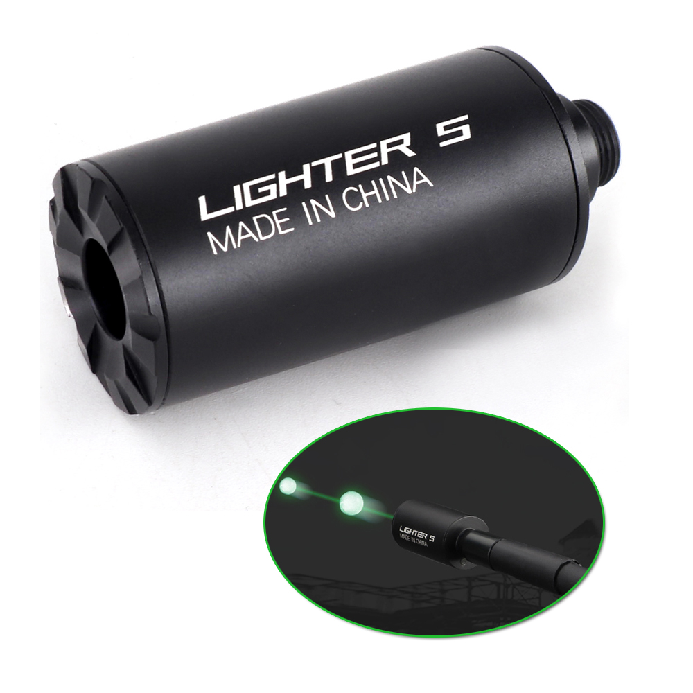 Tracer Lighter Unit Airsoft-Gun Rifle-Pistol Shooting Paintball Glow-In-Dark For 14mm/10mm