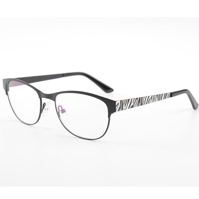 Black Nice Design Women Matel Optical Eyeglasses Frame Fashion ...