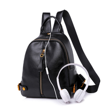 2018 New Fashion Backpack Women Backpacks Female PU Leather School Bags for Teenage Girls Women Bagpack Casual Style Mochilas women sequins backpack small pu leather backpacks for teenage fashion school girls bags female hand bag famous brand mochilas