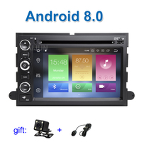 IPS screen 4G RAM Android 8.0 Car DVD Player Radio GPS Stereo for Ford F150 500 Explorer Edge Expedition Mustang fusion