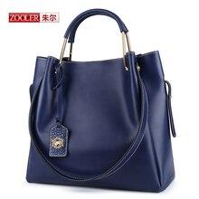ZOOLER New large capacity Bags Women Shoulder Messenger Genuine Bags Ladies genuine leather bags luxury bolsa feminina #CJ-6985