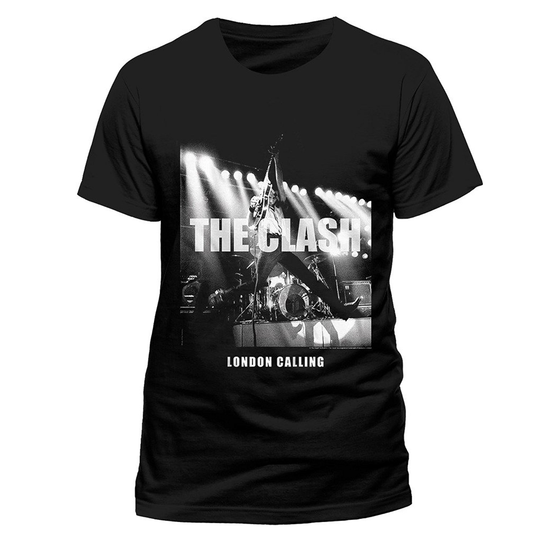 The Clash Combat Rock Punk Rock Band Graphic T Shirts Men T Shirt Novelty O Neck