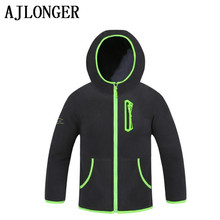 AJLONGER Brand Spring Autumn Winter Kids Sweatshirt Warm Boys Jackets Fashion Leisure Clothes