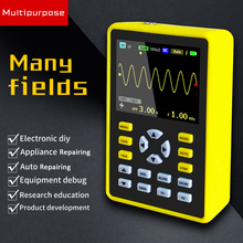 Handheld Mini Portable Digital Oscilloscope with 100MHz Bandwidth and 500MS/s Sampling Rate 5012H 2.4 LCD Display Screen