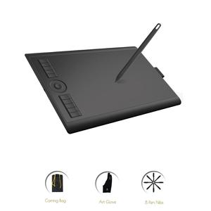 GAOMON M10K 2018 Version 10 x 6.25 Inches Art Digital Graphic Tablet for Drawing with 8192 Level Pen Pressure Passive Stylus(China)