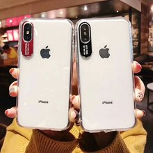 Transparent Mobile Phone Cases For iPhone xr xs max x Ultra