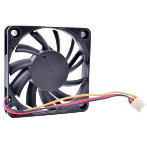 Image 3 - COOLING REVOLUTION FD126010LB 6cm 60mm 6010 12V 0.14A  Computer CPU 3pin Silent Cooling Fan