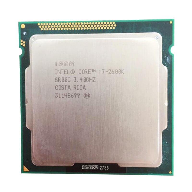 Intel core i7 2600 k CPU 3,4 GHz/8 MB L3 Cache Quad-Core i7 2600 k TDP 95 W LGA1155 buchse verwenden h61 b75