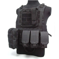 New Hunting Military Tactical Vest Wargame Body Molle Armor Hunting Vest CS Outdoor Jungle Equipment vest with Magazine Pouch