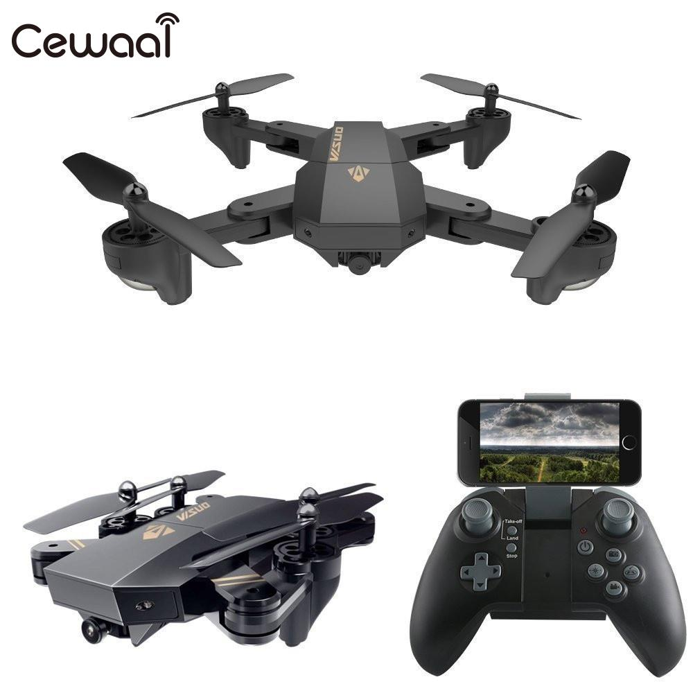 Portable RC Quadcopter Foldable Aircraft FPV Drone with WIFI Camera S25 720P HD Remote Control Auto Hovering Flipping newest apple shape foldable wifi fpv rc drone rc130 2 4g apple quadcopter with 6axis gryo with 720p wifi hd camera rc drones