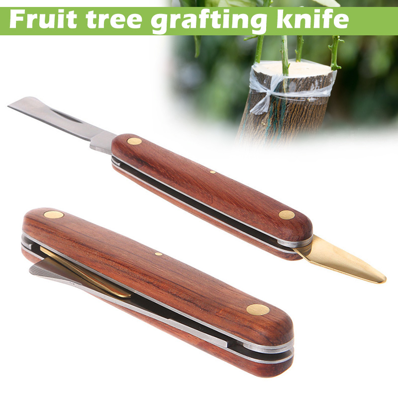 Economical Garden Foldable Grafting Cutter Pruning Seedling Tree Scissor Cutting Tool Ds99