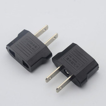 US Outlet Socket Power Adapter EU to US Changeover Plug Electric Travel AC Adaptor Converter