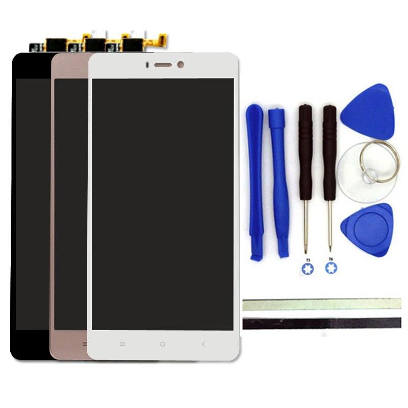 Pour Xiaomi Mi4S LCD Display + Écran Tactile Digitizer Pièces De Rechange 5 pouces Mi4S Mi 4S Cellulaire Téléphone Écran lcd Avec Des Outils Libres
