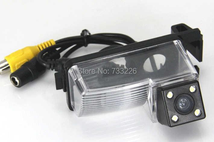 ل يفينا Geniss GT-R سيارة كاميرا الرؤية الخلفية! HD CCD للرؤية الليلية للماء سيارة احتياطية وقوف السيارات كاميرا الأمن