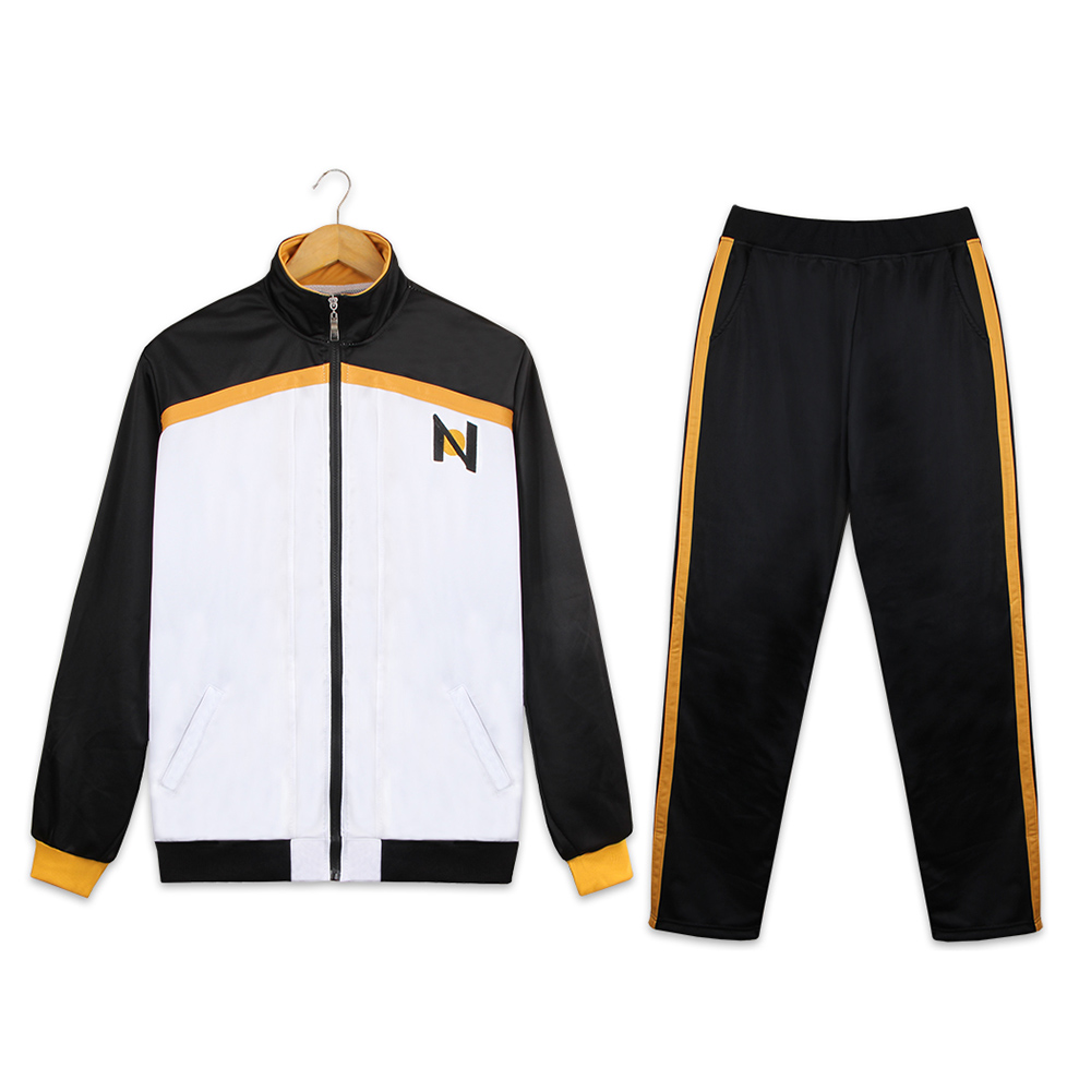 Re: Zero Kara Hajimeru Isekai Seikatsu Jacket Pants Subaru Natsuki Cosplay Costume Sportswear Coat Long Trousers School Uniform