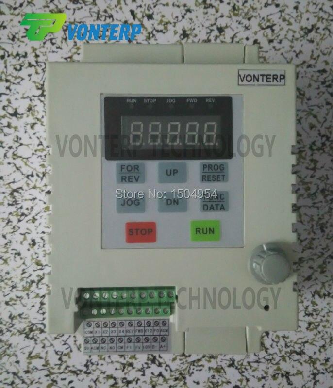 2.2KW 220V 1 phase input & 220v 1 phase  output frequency inverter/ac drive for 1 phase capacitance start ac asynchronous motor