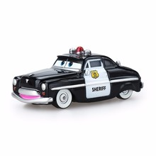 Disney Pixar Car 3 Toy Mcqueen Kind 1:55 Die-cast Metal Alloy Model 2 Children Birthday Christmas Gift Police