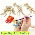 3d tridimensional enigma de madeira quebra-cabeças de animais brinquedos para as crianças diy handmade quebra-cabeças Animais Série Insetos JM825002