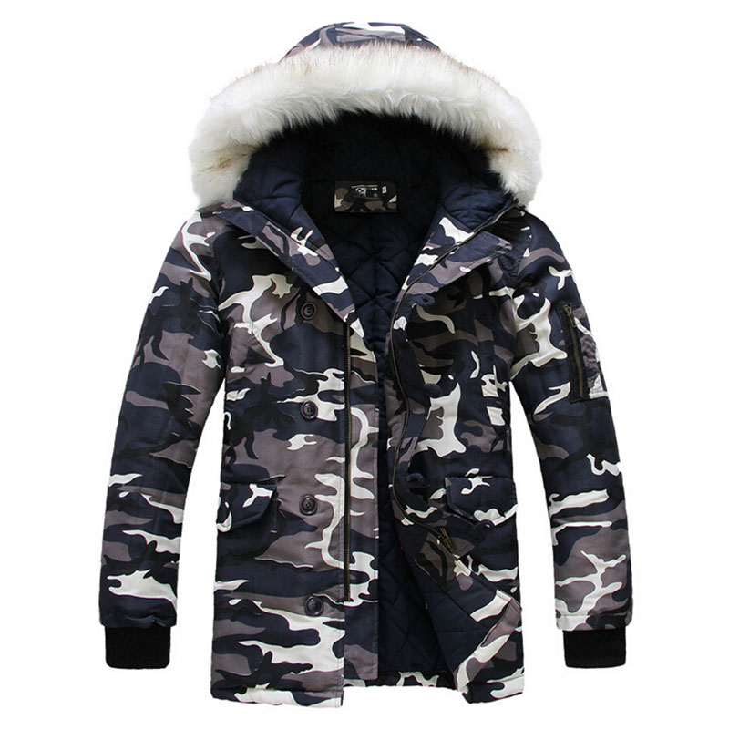 Hot-selling 2017 new arrival Wadded Winter Jacket for Men Cotton Wadded Thickening camouflage winter coat men's winter parka 2017 new hot selling fashion casual winter jacket men coat comfortable
