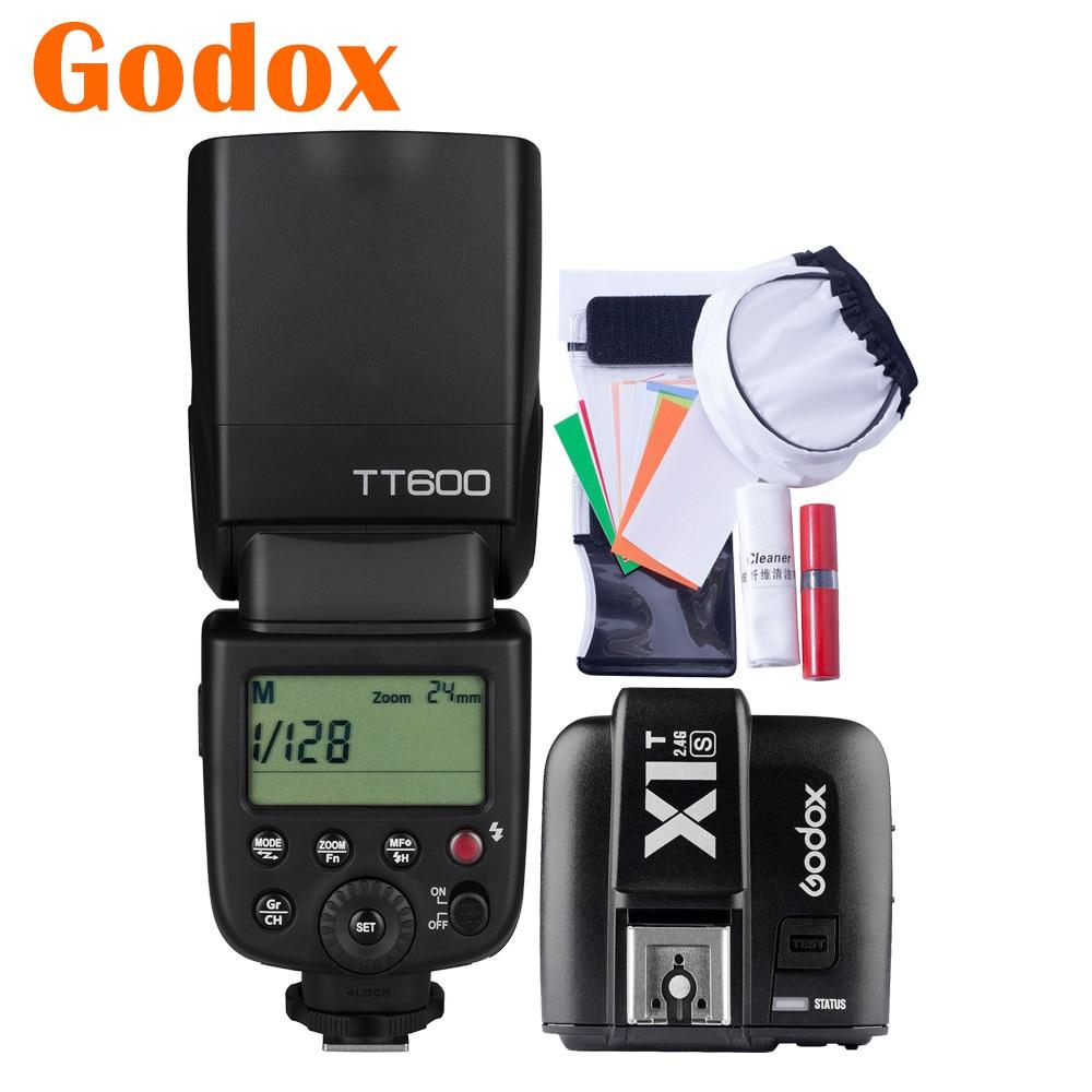 GODOX TT600S Camera Flash for Sony Cameras 2.4G HSS Speedlight with MI Hotshoe